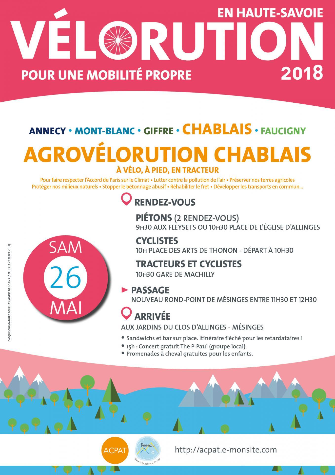 Ve lorution 2018 chablais