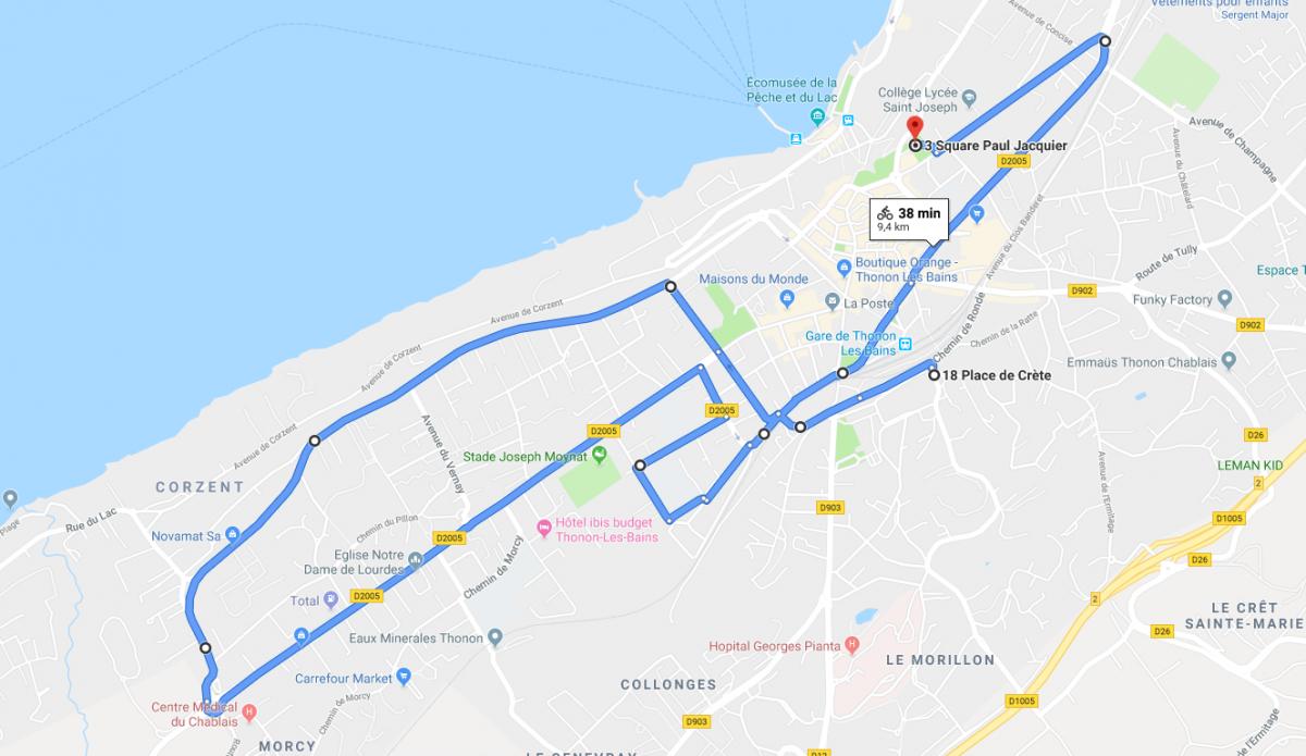 Velorution 2019 depart thonon crete grand parcours 11h